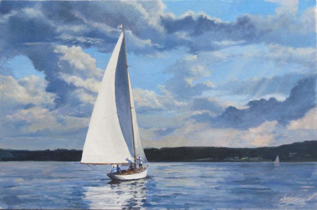 Summer breeze by Kirk Larsen